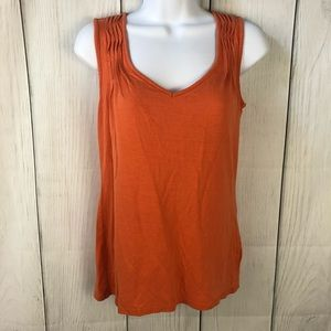 Talbots size XS orange tank